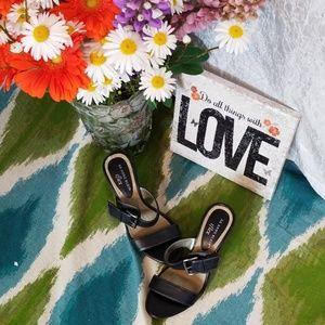Anne Klein Maeara slip on heels size 5